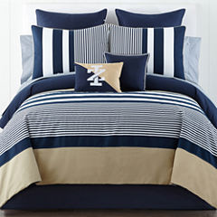 IZOD® Classic Stripe Comforter Set & Accessories