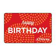 Happy Birthday Sunburst Gift Card