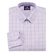 Stafford® Executive Non-Iron Cotton Pinpoint Dress Shirt - Big & Tall