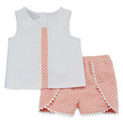 Marmellata Girls Short Sleeve Short Set