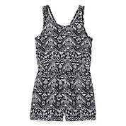 City Streets Sleeveless Romper - Girl's 4-16