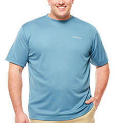Columbia Sportswear Co. Short Sleeve Crew Neck T-Shirt-Big and Tall