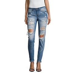 Rewash Skinny Jeans-Juniors