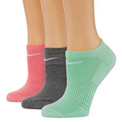Nike 3 Pair No Show Socks