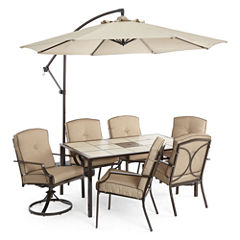Outdoor Oasis™  Stratton 7pc Dining Set