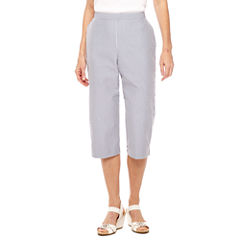 Alfred Dunner Garden Party Seesucker Capris