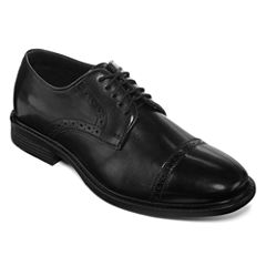 Stafford® Atticus Men's Leather Cap-Toe Oxfords