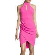 Bisou Bisou® Sleeveless Halter Dress