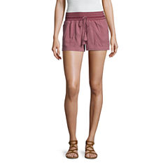 Tyte Jeans Woven Pull-On Shorts-Juniors