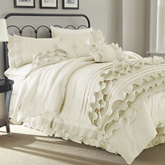 8-pc.Ruffled Comforter Set Anastacia