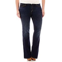 Arizona Bootcut Jeans-Juniors Plus