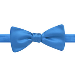 Stafford® Solid Satin Pre-Tied Bow Tie