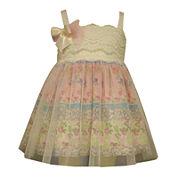Bonnie Jean® Sleeveless Printed Dress – Baby Girls newborn-9m