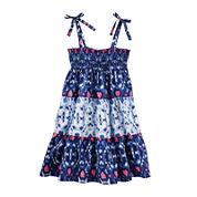 OshKosh B'gosh® Sleeveless Print Maxi Dress - Preschool Girls 4-6x