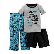 Carter's® 3-pc. Pirate Pajama Set - Baby Boys 12m-24m
