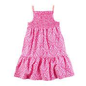 Carter's® Sleeveless Geo-Print Dress - Toddler Girls 2t-5t