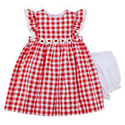 Marmellata Short Sleeve Cap Sleeve Sundress - Baby Girls