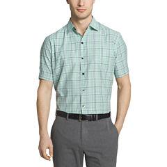 Van Heusen Air Short Sleeve Button-Front Shirt