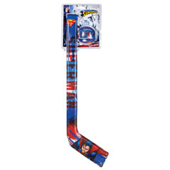 Franklin Sports Soft Sport Superman Hockey Stick & Ball Set