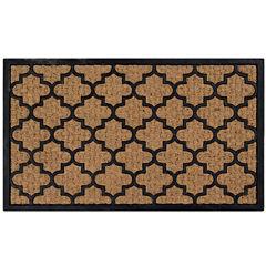 Better Trends Panama Coir Rectangular Doormat
