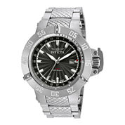 Invicta® Subaqua Mens Stainless Steel Stainless Bracelet Watch