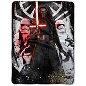 Star Wars The Force Awakens First Order Throw