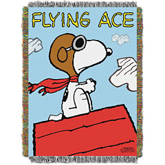 Peanuts Snoopy Tapestry Throw