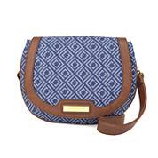 Liz Claiborne Sarah Saddle Crossbody Bag