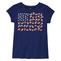 Okie Dokie Graphic T-Shirt-Preschool Girls