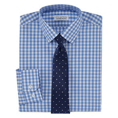 Collections By Michael Strahan Shirt + Tie Set - Big Kid Boys
