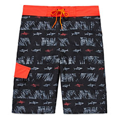 Arizona Black Sharks Swim Trunks- Boys 8-20
