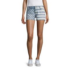 Arizona American Flag Shorts-Juniors