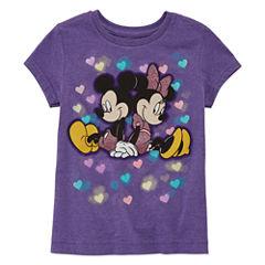 Disney Graphic T-Shirt-Big Kid Girls