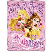Disney Princess Dare To Dream Throw