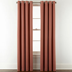 JCPenney Home™ Pembroke Grommet-Top Curtain Panel