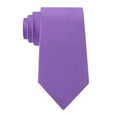 Stafford® Textured Neat Solid Silk Tie