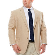 Stafford® Linen Cotton Sportcoat - Portly