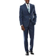 Stafford® Travel Windowpane Suit Separates - Classic Fit