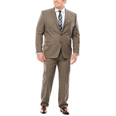 Collection by Michael Strahan Tic Plaid Suit Separates