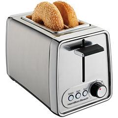 Hamilton Beach® Modern Chrome 2-Slice Toaster