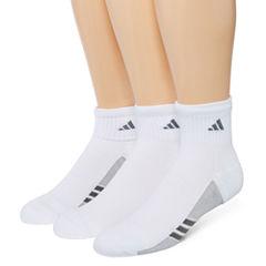 adidas® Mens 3-pk. climacool® Superlite Quarter Socks