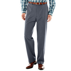 IZOD® Light Blue Tic Flat-Front Suit Pants–Classic Fit