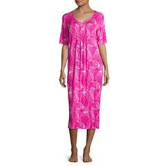 Jasmine Rose  Jersey Pattern Nightshirt