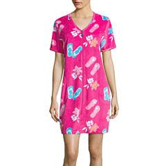 Jasmine Rose  Short Sleeve Pique Robe