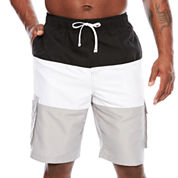 U.S. Polo Assn. Solid Swim Shorts Big and Tall