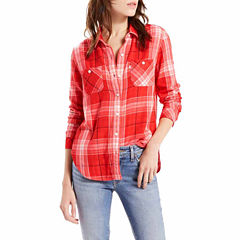 Levi's® Long Sleeve Button-Front Shirt