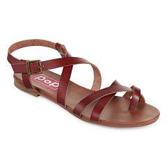Pop Sarris Womens Strap Sandals