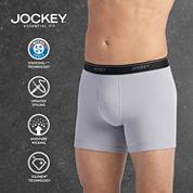 Jockey® 3-pk. Staycool Plus Boxer Briefs