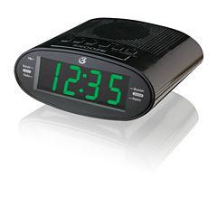 GPX C303B Dual Alarm Clock AM/FM Radio