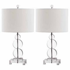 Safavieh Moira Crystal Table Lamp